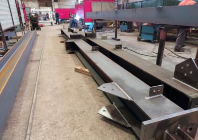 Výroba ocelových konstrukcí (4)